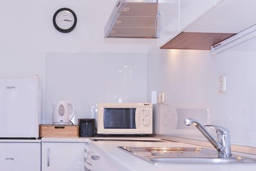 Studio with Terrace - Fully equipped kitchen